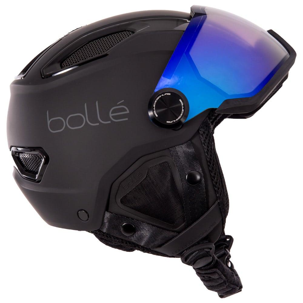 Casque de ski à visière Bolle V-Line Carbon