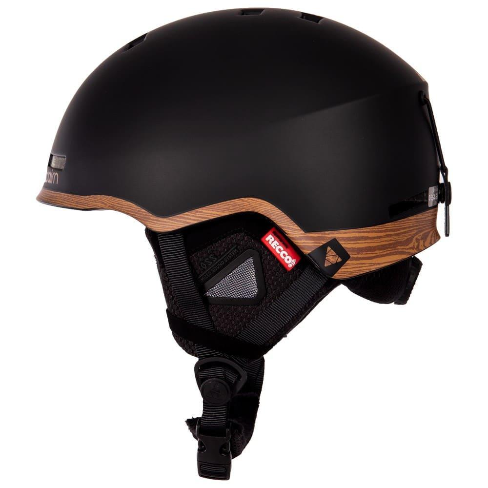 Casque-de-ski-Cairn-avec-emetteur-RECCo
