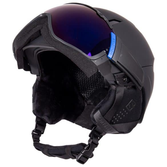 casque ski visière intégrée Salomon Driver