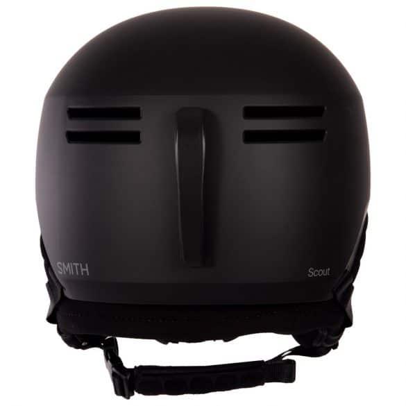 vue arrière du casque de ski Scout