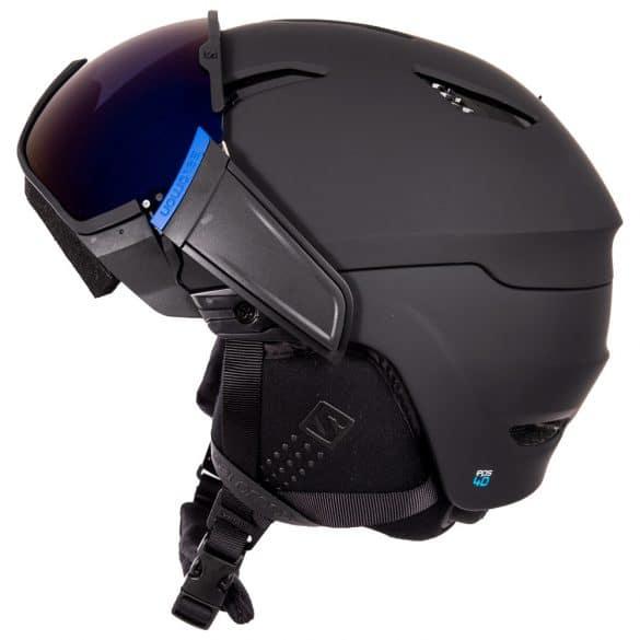 vue latérale casque ski Driver