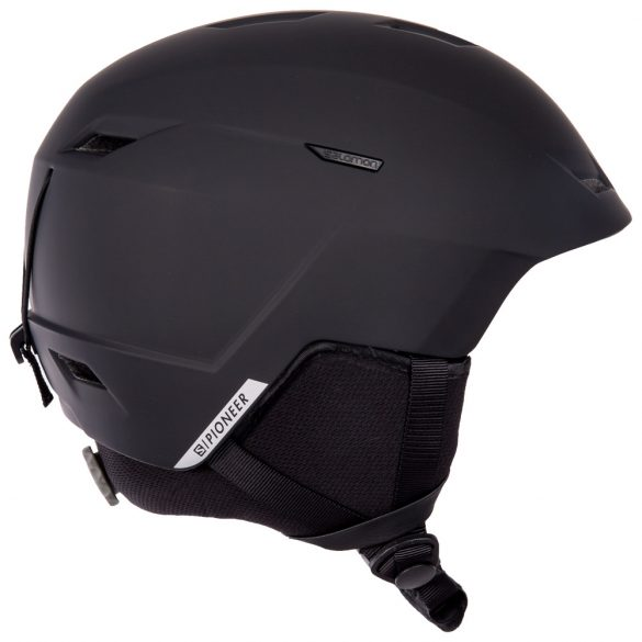 vue latérale droite casque ski Salomon Pioneer